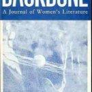 BACKBONE A JOURNAL OF WOMEN'S LITERATURE