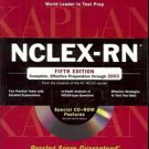 KAPLAN NCLEX RN 5TH EDITION COMPLETE EFFECTIVE PREPARATION THOUGH 2003