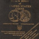 THE OFFICAL 1978 BLACK BOOK OF UNITED STATES COINS COMPLETELY REVESED