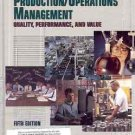 PRODUCTION OPERATIONS MANAGEMENT QUALITY PERFORMANCE &