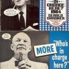 WHO'S IN CHARGE HERE? 1984 BY GERALD GARDNER LOT OF 2 BOOKS