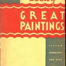 THE HOME BOOK OF GREAT PAINTINGS BY E. M. HURLL 1902