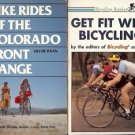 BIKES RIDES OF THE COLORADO FRONT RANGE LOT OF 2 BOOKS