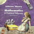 MATHEMATICS A PRACTICAL ODYSSEY  JOHNSON & MOWRY