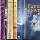 GOD'S ANSWERS FOR YOUR LIFE LOT OF 9 BOOKS