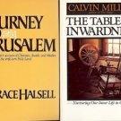 JOURNEY TO JERUSALEM LOT OF 2 BOOKS