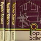 POPULAR SCIENCE HOMEOWNER'S ENCYCLOPEDIA 5 BOOKS