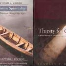 CHRISTIAN SPIRITUALITY THIRSTY FOR GOD LOT OF 2 BOOKS