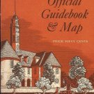 OFFICIAL GUIDEBOOK & MAP COLONIAL WILLIAMSBURG 1972
