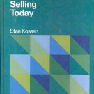 CREATIVE SELLING TODAY BY STAN LOSSEN 1977