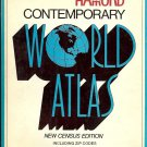 HAMOND CONTEMPORARY WORLD ATLAS NEW CENSUS EDITION NCLUDING ZIP CODES 1974