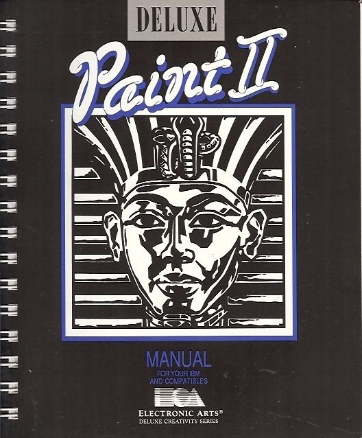 PAINT II MANUAL FOR YOUR IBM AND COMPATIBLES DELUX