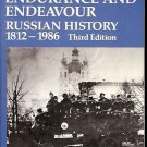 ENDURANCE & ENDEAVOUR RUSSIAN HISTORY 1812 1986 3TH EDITION J.N. WESTWOOD