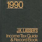 1990 INCOME TAX GUIDE & RECORD BOOK BY J.K. LASSER