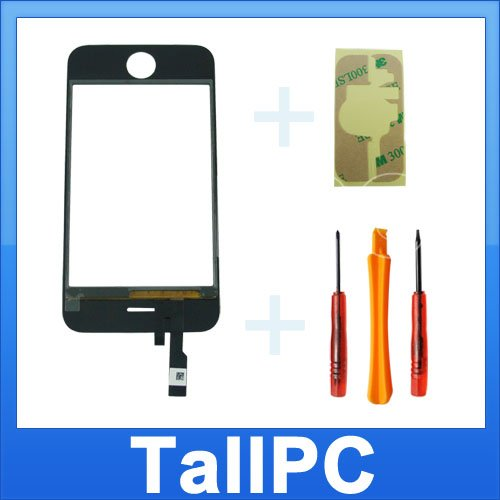 NEW iphone 3G Digitizer Touch Screen US + Adhesive +TL
