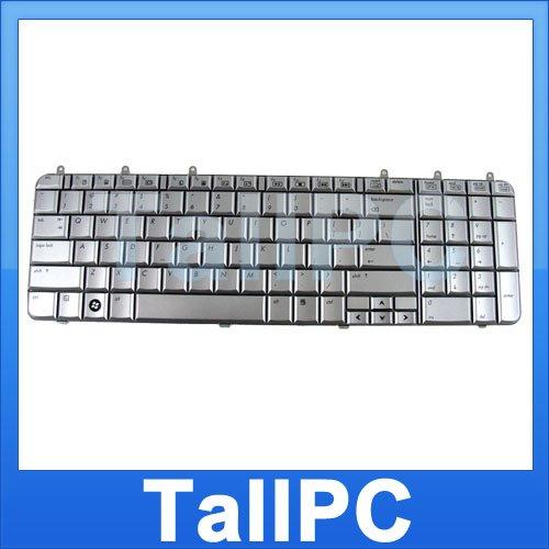 NEW HP laptop HP DV7 keyboard Silver w/ Six screws US