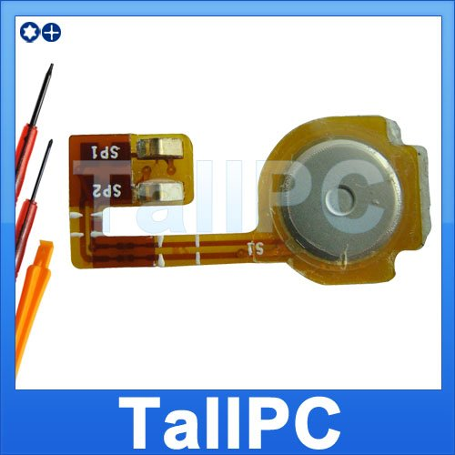 US Iphone 3G Home Button Flex Cable Ribbon US + tools