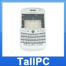 BlackBerry BOLD 9000 FULL Housing Case Cover White USA