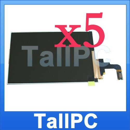 Lots of 5 NEW OEM Iphone 3G LCD screen for iphone 3G US