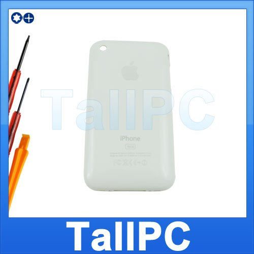 White Iphone 3G Back housing Cover 16GB iphone 3G +Tool