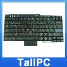 New IBM T60 T61 keyboard w/ point stick Black US laptop