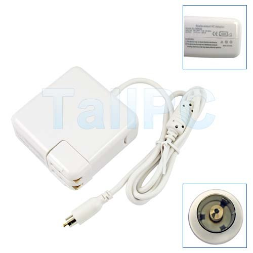 New 24V 1.875A 45W AC Adapter for Apple iBook/Powerbook