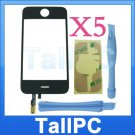 x5 Iphone 3G Digitizer Touch Screen 2 tools adhesive US