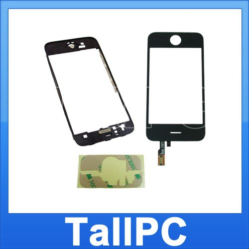Iphone 3G Digitizer Touch + Mid Chassis + Adhesive US