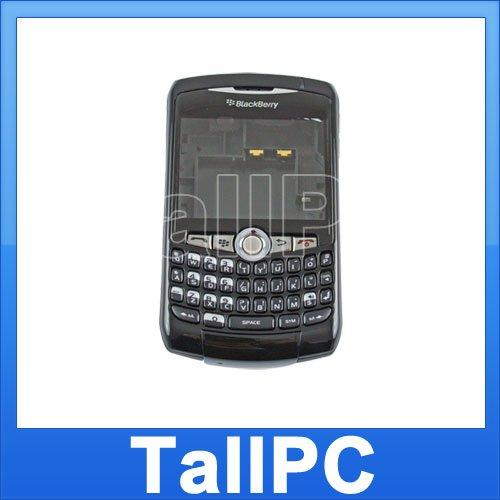 For BlackBerry Curve 8320 Full Housing Cover US Black