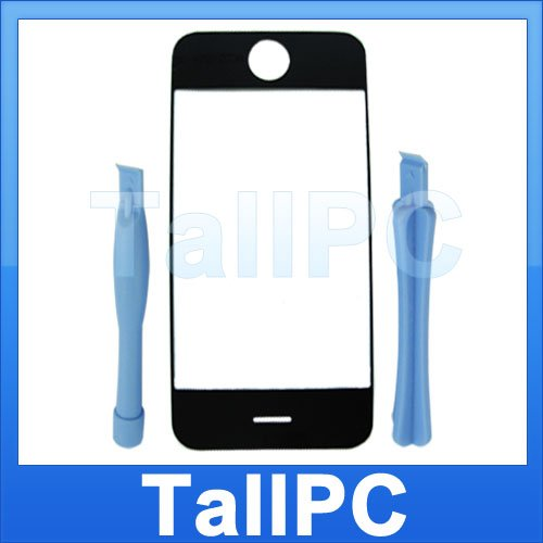 NEW iphone 2G outer Glass lens panel + 2tools US seller