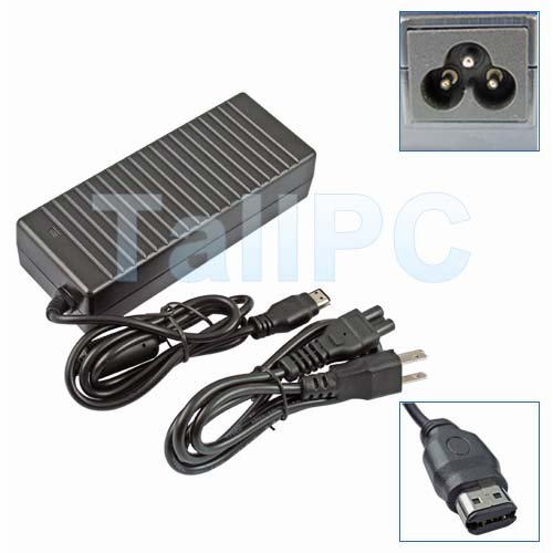 New HP Compaq R4000 ZV6000 120W Charger AC Adapter