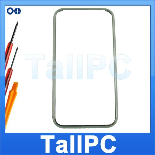 IPhone 2G  Mid Front Bezel Frame Chrome US + tools