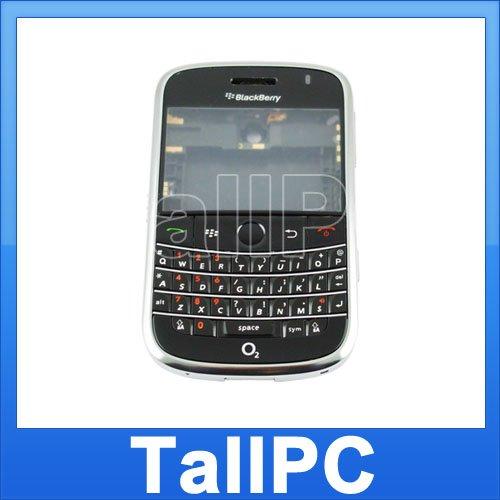 BlackBerry BOLD 9000 FULL Housing Case Cover USA Black
