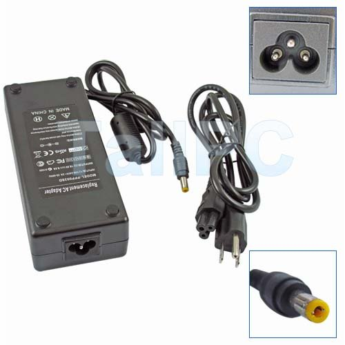 New 18.5V 6.5A AC Adapter for HP Compaq ZV5000 R3000 US