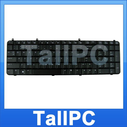 NEW HP DV9000 DV9000 keyboard replacement Black USA