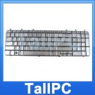 NEW HP DV7 keyboard HP DV7 Silver w/ Six screws US