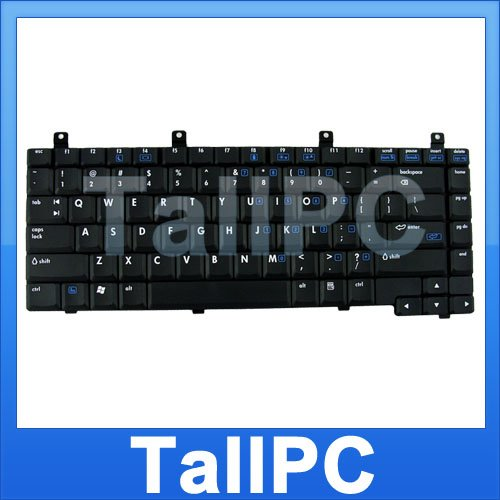 For  NEW HP NX6330 keyboard replacement Black US