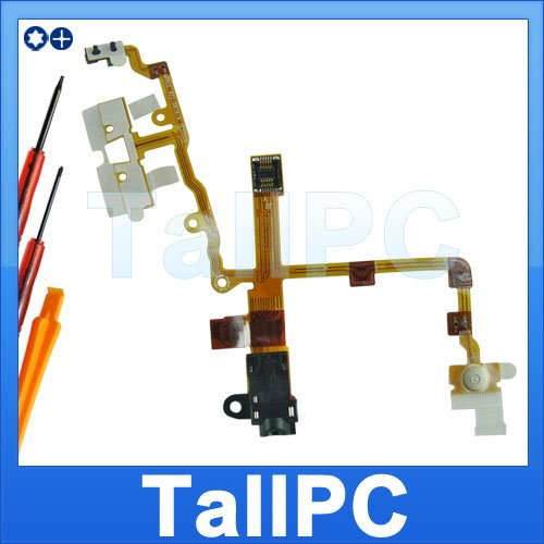 For iPhone 3G Headphone Jack flex ribbon w/ Switch US