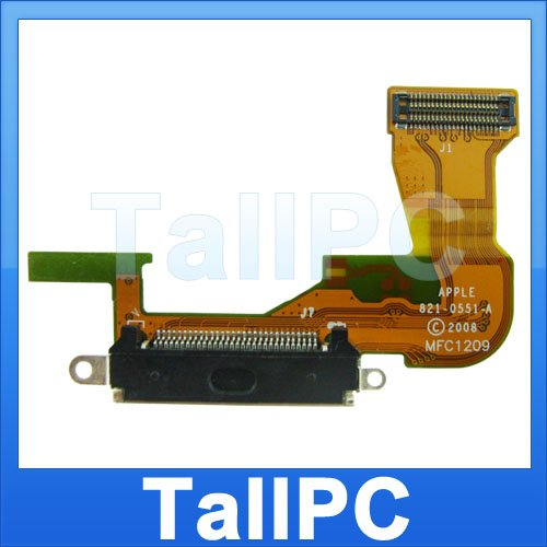 NEW Iphone 3G Tail Flex Charging Data Ribbon cable US
