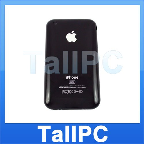 New Iphone 3GS 32GB Black Back Housing Cover Case US