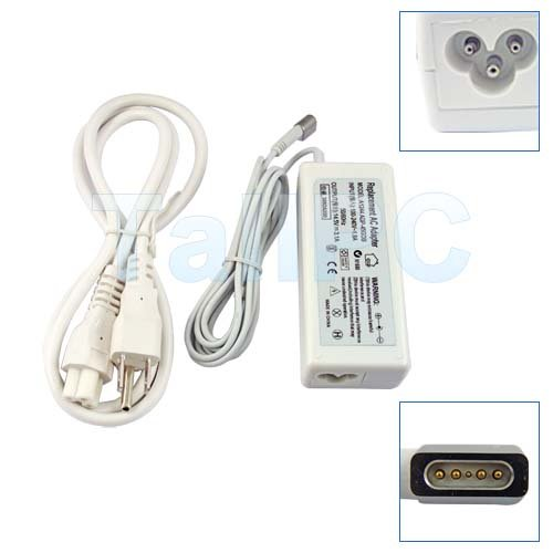 New APPLE 14.5V 3.1A 45W A1244 MacBook AC Adapter US