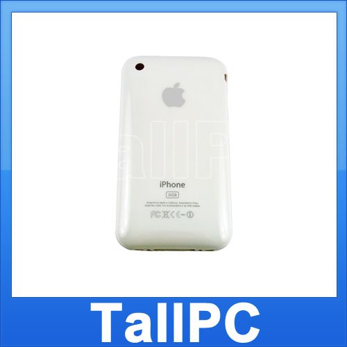 New Iphone 3GS Back Housing Cover Case 32GB 3GS White