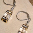 Swarovski Crystal Lantern Earrings