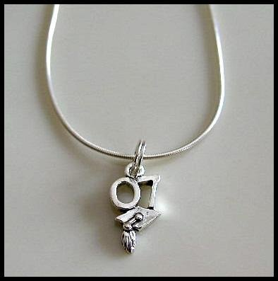 Solid Sterling Silver 2007 GRADUATION HAT Charm Necklace