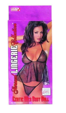 (5) Sensual Lingerie Collectio Exotic Web