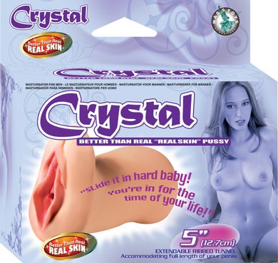 (17) Better Than Real Skin Pussy - Crystal
