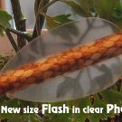 Phantom (clear) Flash Vanes - hunting flex fletch archery vanes arrows fletching