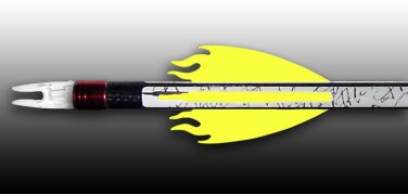 Flame Vanes - Florescent Yellow, FREE SHIPPING