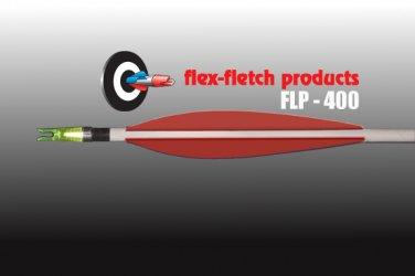 FLP-400 Red, Flex-Fletch, archery, vanes, hunting, arrows, target, fletching