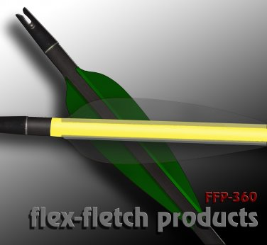 Phantom FFP-360 Flex-Fletch archery, vanes, hunting, arrows, target, fletching